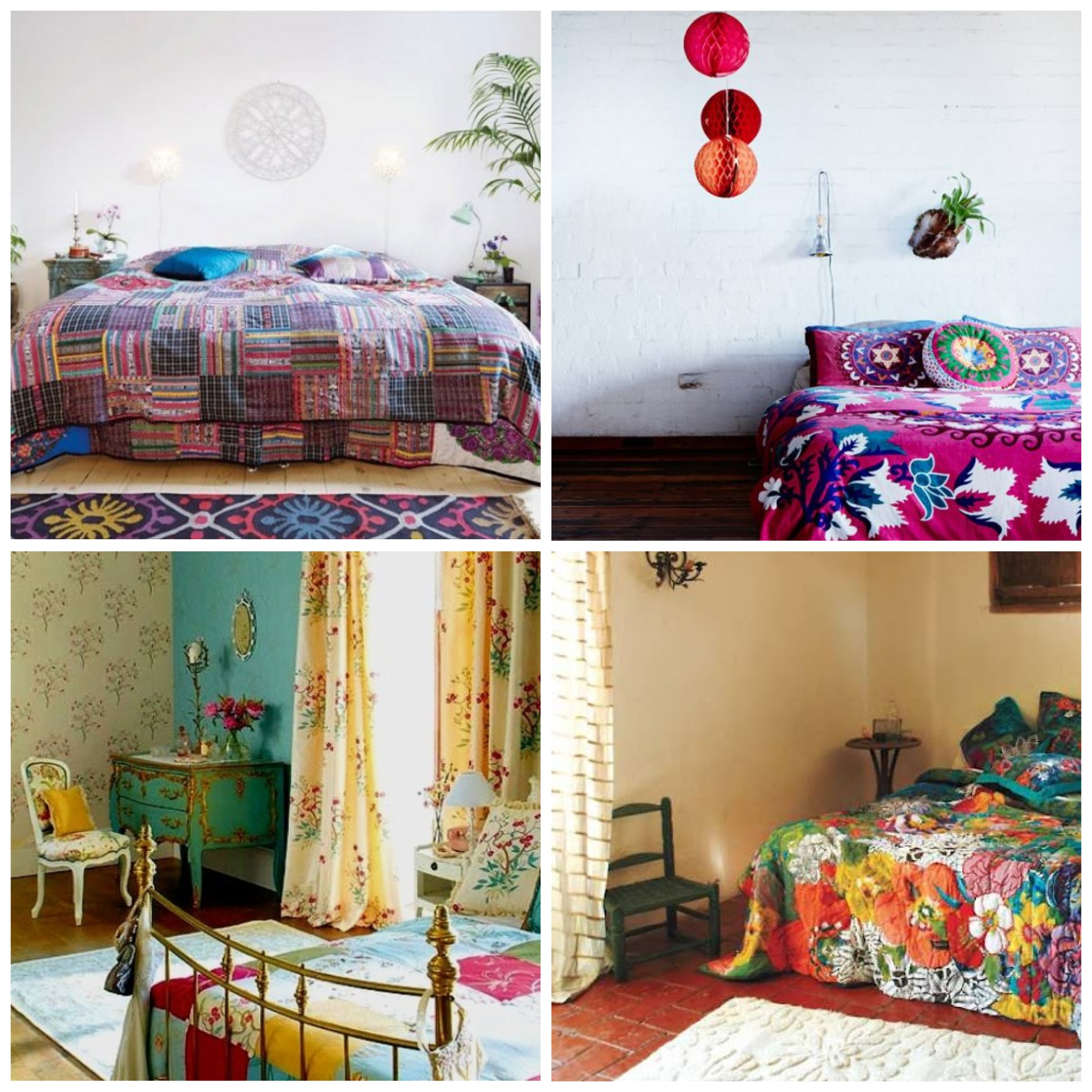 Decoracao Sala Hippie Chic